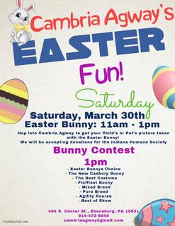 Cambria Agway S Easter Fun Easter Bunny Bunny Contest Rennug Local Events A daily exploration of the physiological, psychological and philosophical frontiers of the canine experience. cambria agway s easter fun easter bunny bunny contest rennug local events